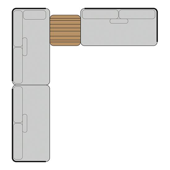 BARCELONA Set 2 | B: 320cm | T: 340cm