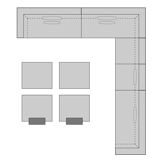 FLORENZ Set 3   B: 449   H: 70  T: 394