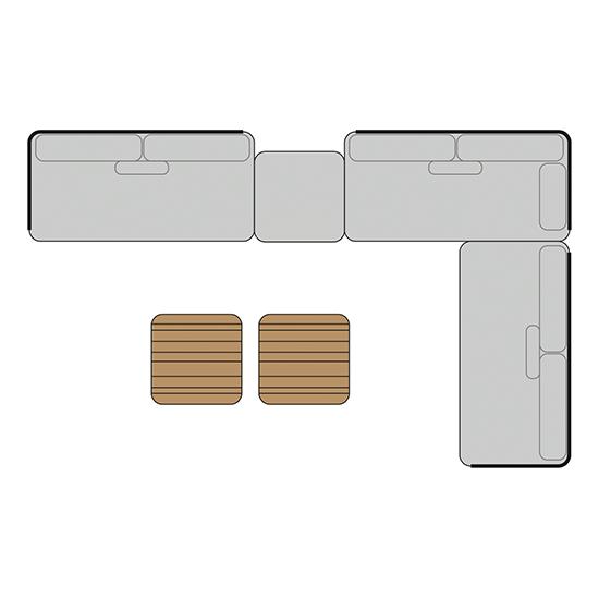 BARCELONA Set 3 | B: 408cm | T: 252cm