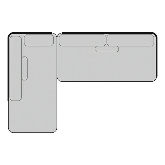 BARCELONA Set 1 | B: 252cm |T: 170 cm