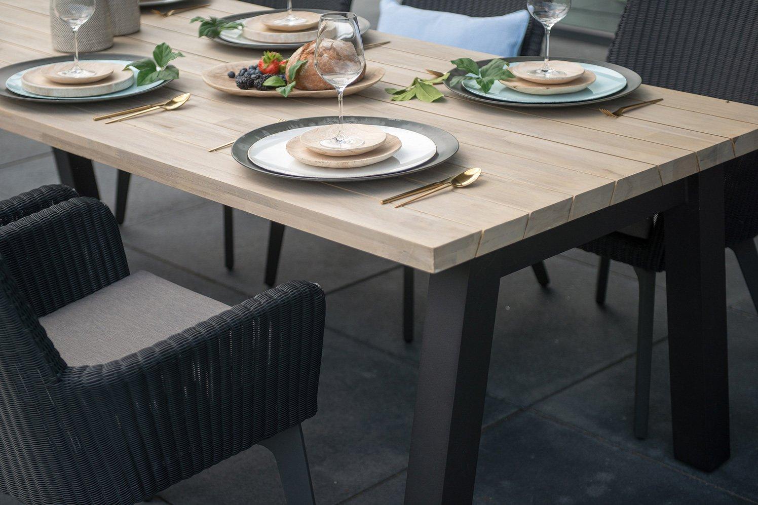 Gartenmöbel aus Metall