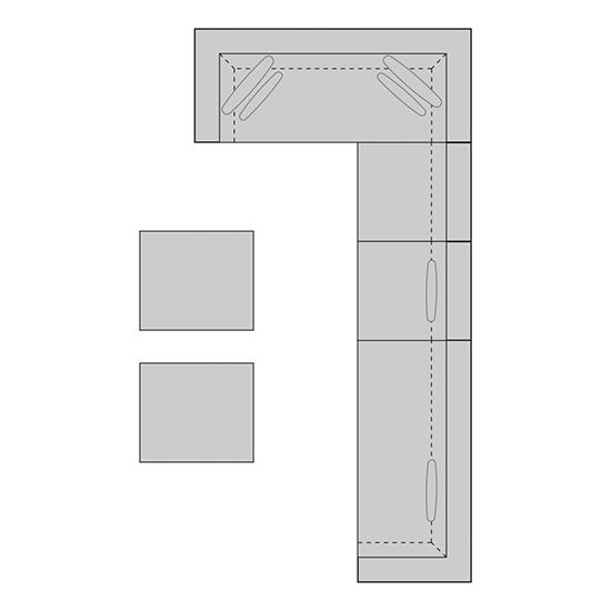 FLORENZ Set 4   B: 449   H: 70  T: 225