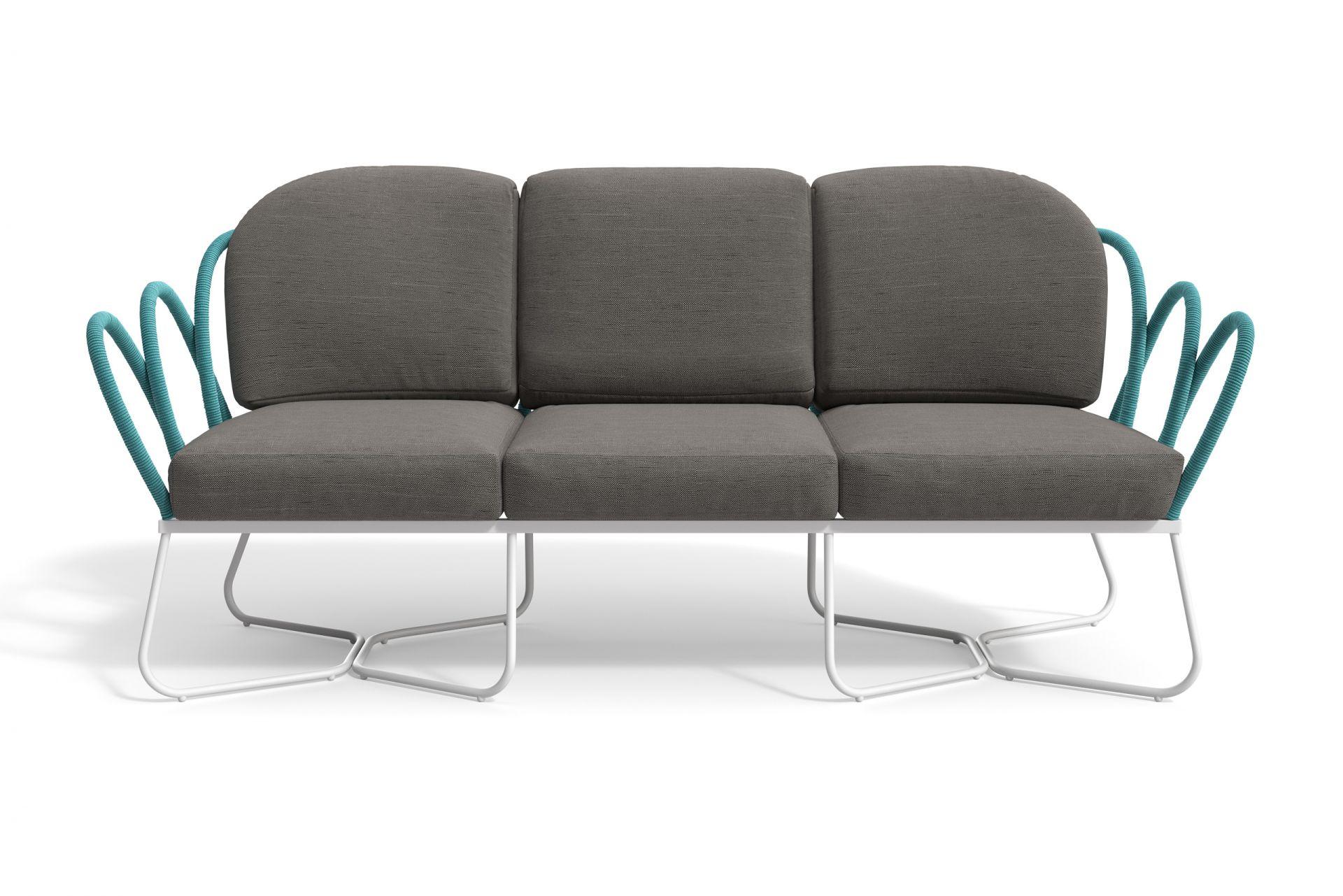 SANTORINI 3-Sitzer