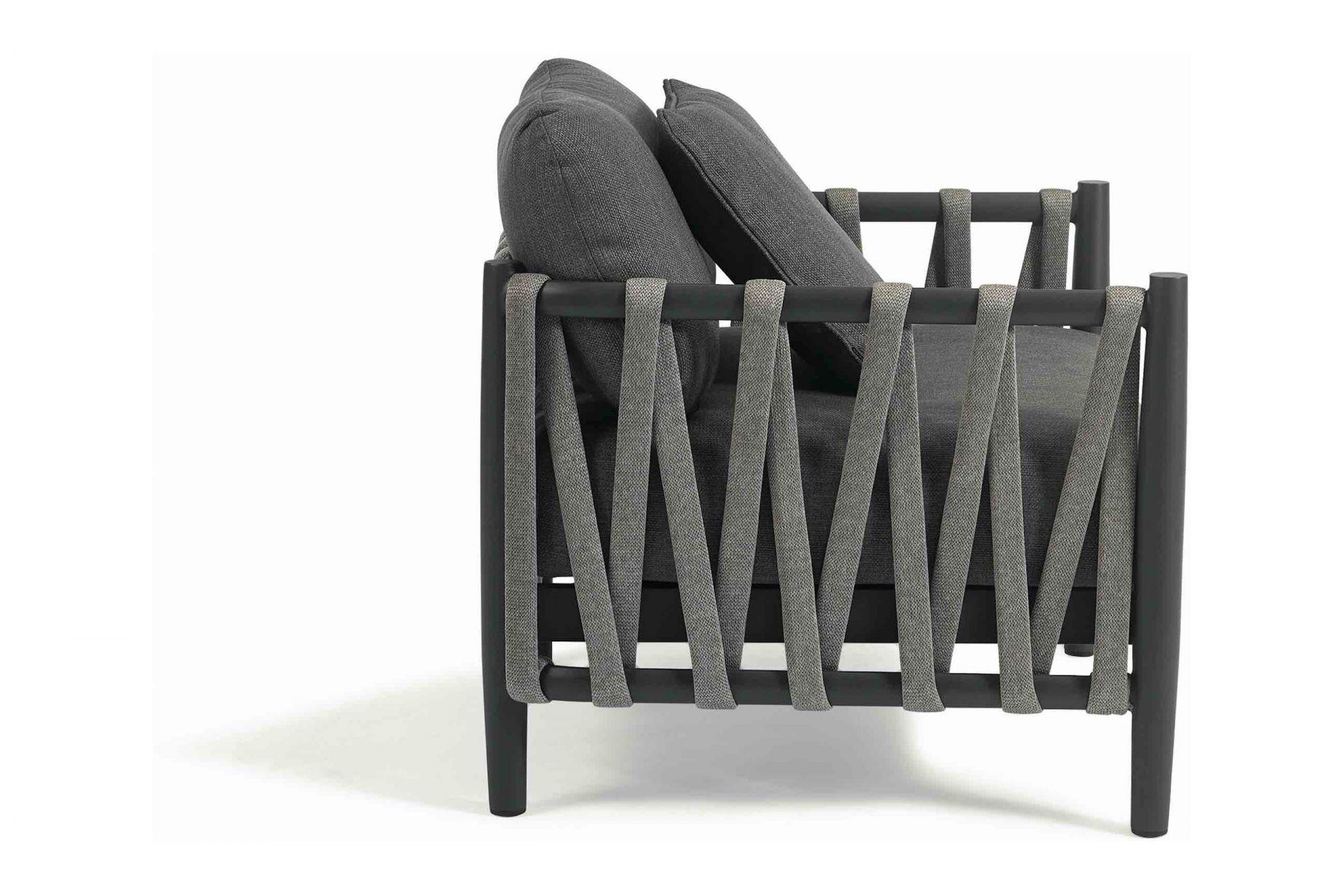 SEVILLA 1-Sitzer mit Armlehne rope