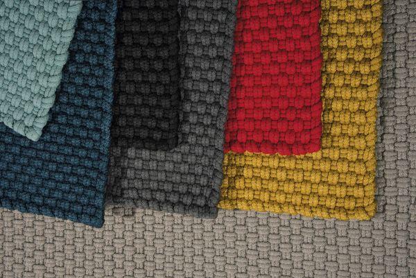 Uni Outdoorteppich (2er Set) schwarz